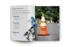 Traffic Plan's Brochure about Traffic Control Services