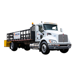 Safety truck sales and rentals for traffic control