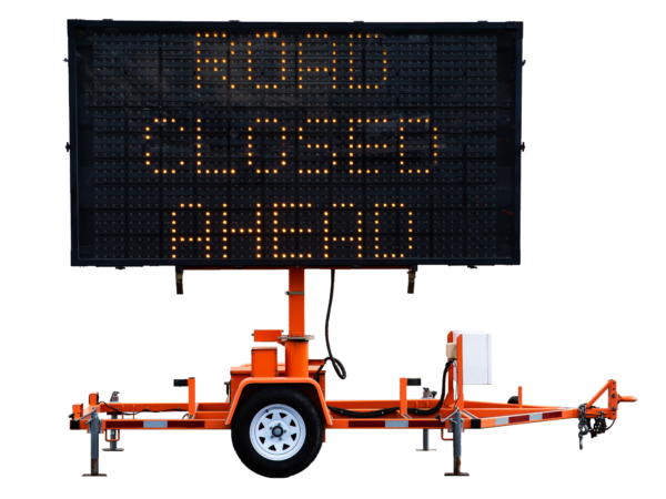 Full-Size Trailer-Mount Message Boards