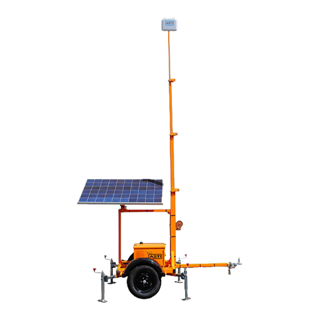 Wanco Portable Light Tower: Intelligent Traffic Management