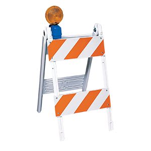 Type 1 & 2 Folding Barricades